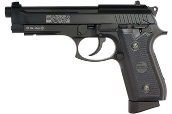 Swiss Arms .177 Caliber P92 CO2 Blowback Airgun